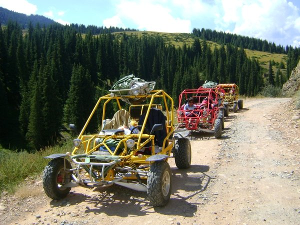 Kaskelen Ravines Buggy Tour (small Ring)