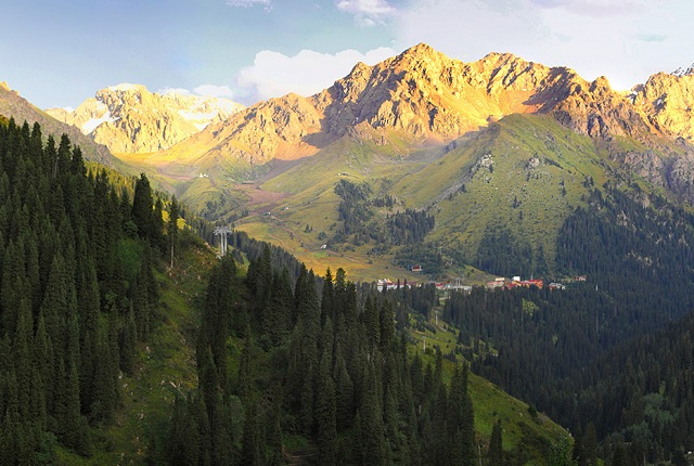 Almaty Mountain Surroundings