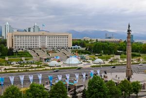 Almaty. Republic Square