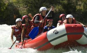 Rafting Tour On Turgen River